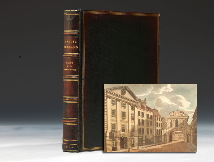Picturesque Views, With An Historical Account of the Inns of Court