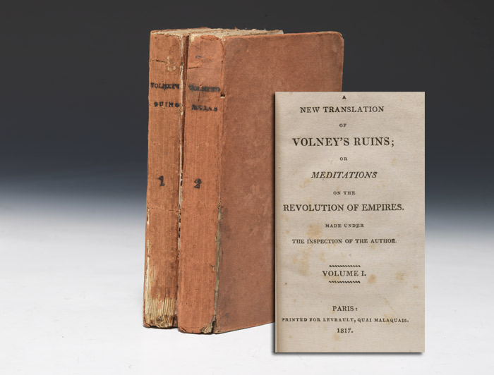 New Translation of Volney's Ruins