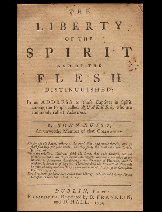 Liberty of the Spirit
