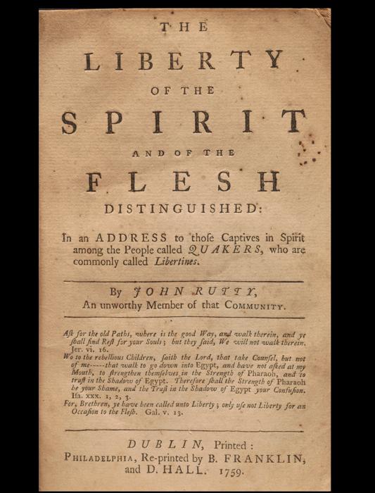 Liberty of the Spirit