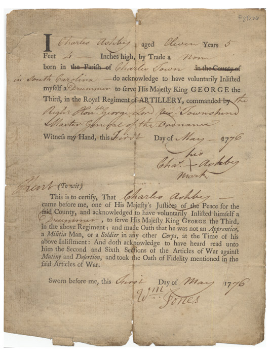 Enlistment document