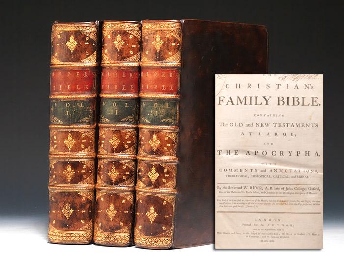 Christian's Family Bible
