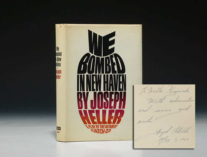 We Bombed in New Haven. WITH: Autograph and typed letters signed, discussing Catch-22