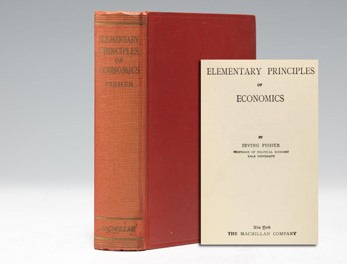 Elementary Principles of Economics
