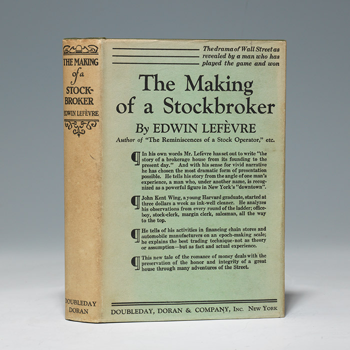 Making of a Stockbroker