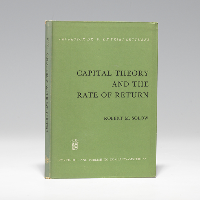Capital Theory and the Rate of Return