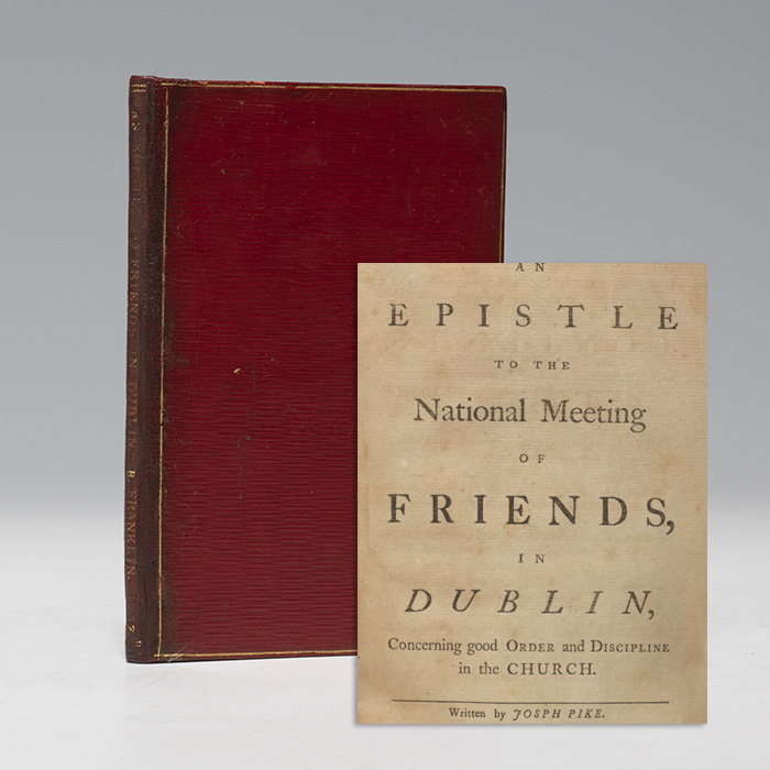 Epistle to the National Meeting of Friends in Dublin