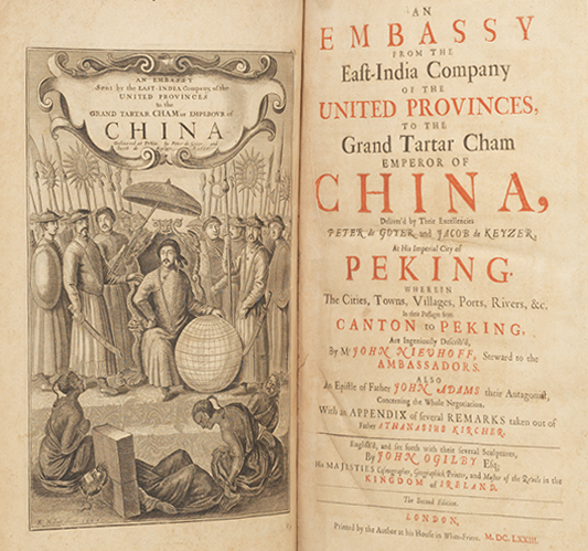 Embassy from the East-India Company... To the Emperor of China