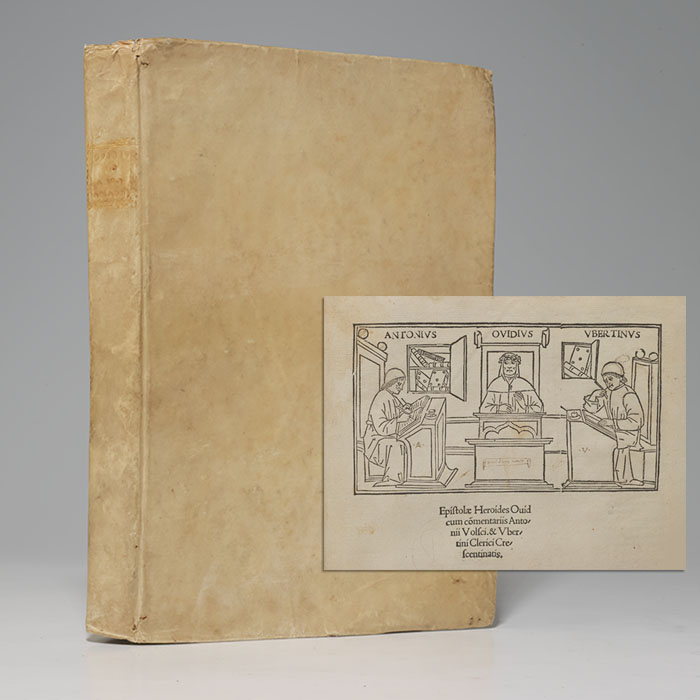 De Arte Amandi et de Remedio Amoris. BOUND WITH: Epistolae Heroides