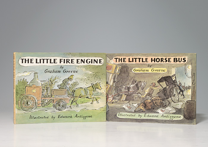 Little Fire Engine. WITH: Little Horse Bus