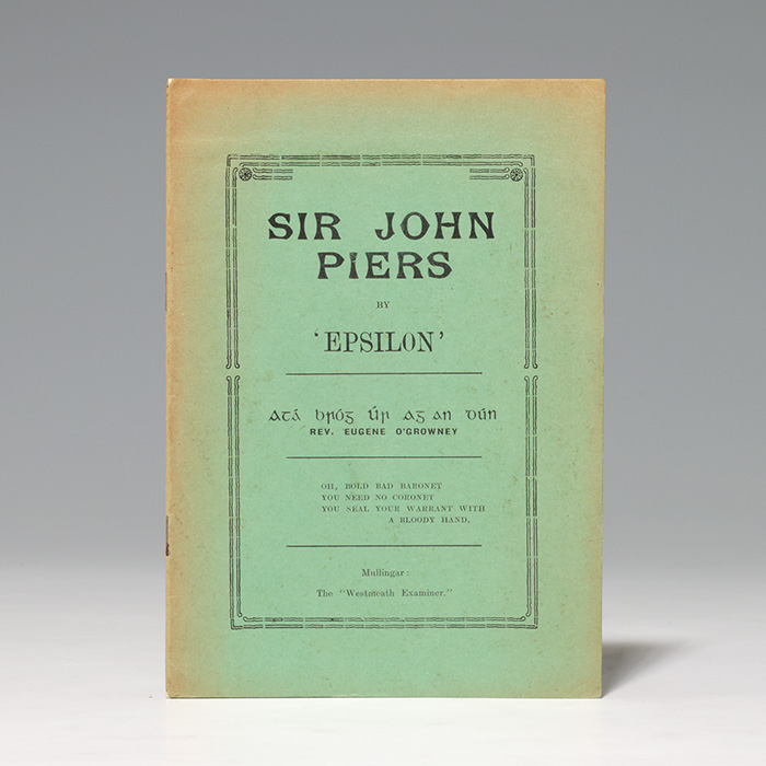 Sir John Piers