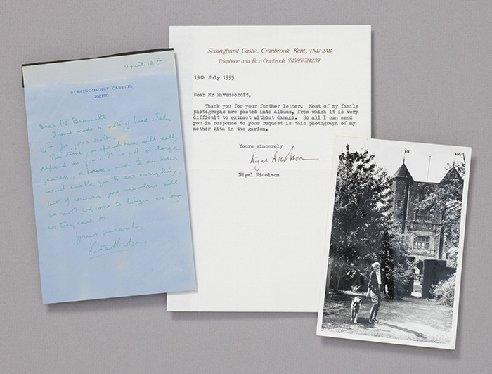 Archive, including autograph letter signed