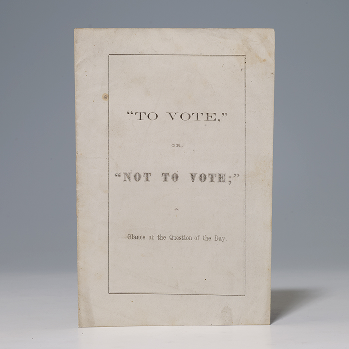 To Vote, or, Not to Vote