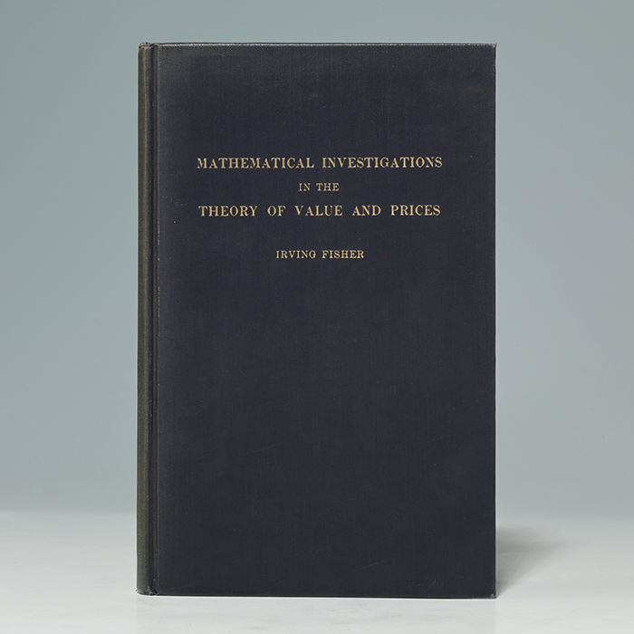 Mathematical Investigations in the Theory of Value and Prices