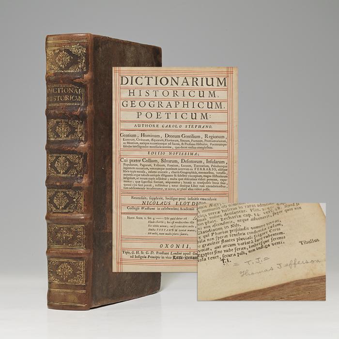Dictionarium Historicum, Geographicum, Poeticum