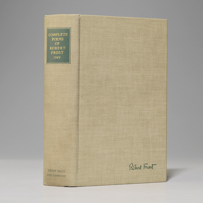 Complete Poems of Robert Frost 1949