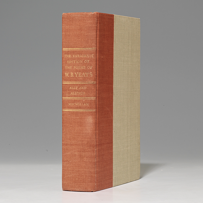Variorum Edition of the Poems of W.B. Yeats