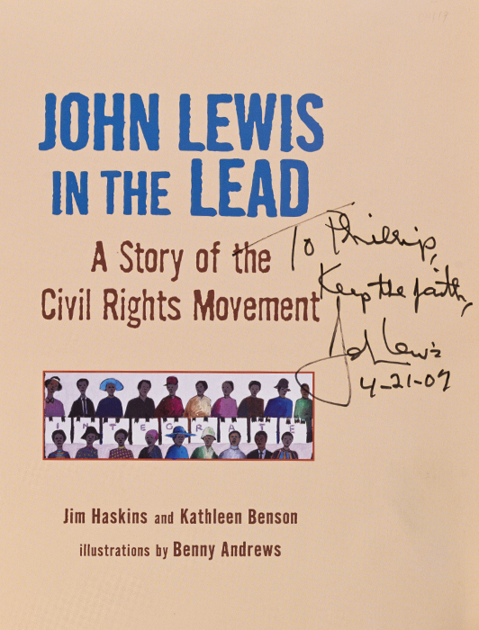 John Lewis in the Lead
