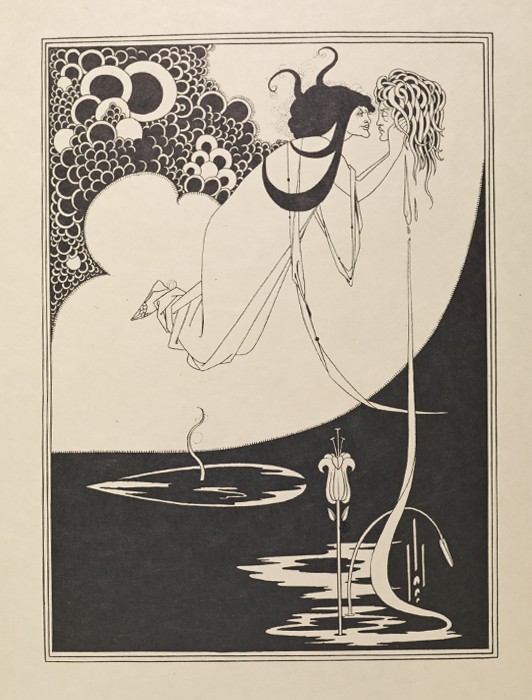 "Portfolio of Aubrey Beardsley's Drawings Illustrating ""Salome"""