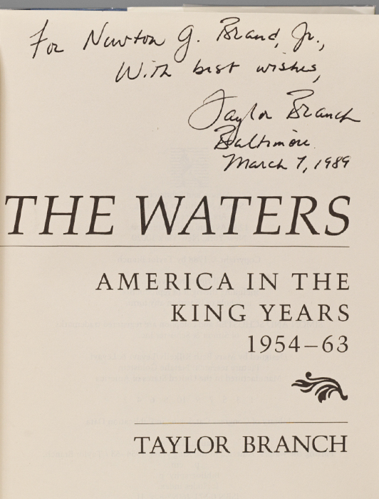 America in the King Years: Parting the Waters; Pillar of Fire; At Canaan's Edge