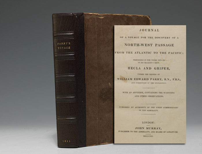 Journal of a Voyage for the Discovery of a North-West Passage…