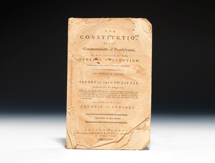 Constitution of the Commonwealth of Pennsylvania
