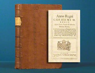 Anno Regni Gulielmi III. Decimo Tertio