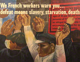 Poster: We French workers warn you
