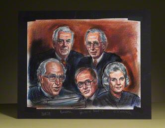 Supreme Court Justices: five original group portraits
