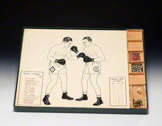 Prototype boxing game