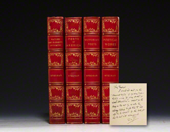 Victorian Poets, Poetical Works, Poets of America, Nature and Elements of Poetry