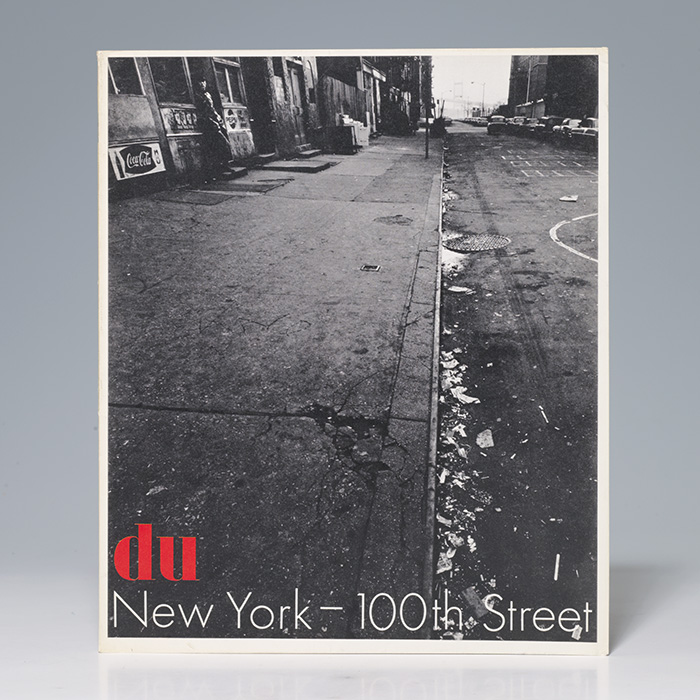Du [Magazine title]. New York-100th Street