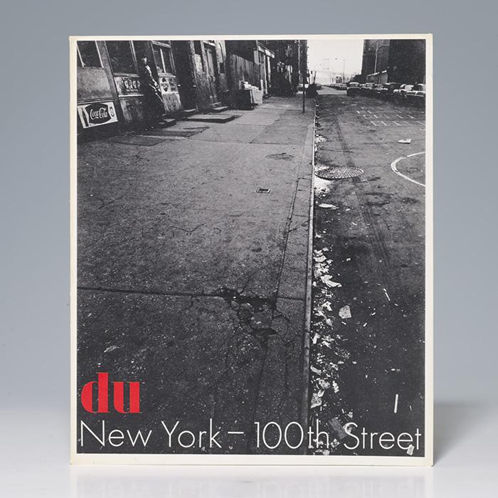 Du [Magazine title]. New York-100th Street