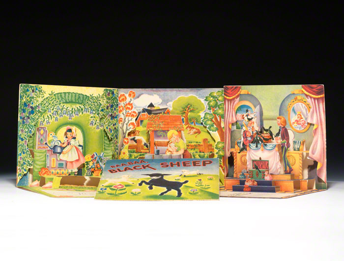 Four pop-up books