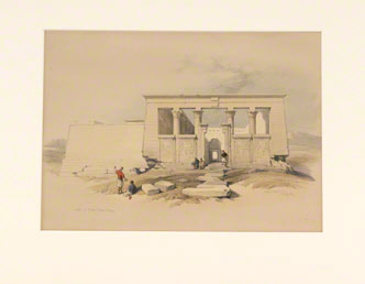 Temple at Wady Dabod, Nubia