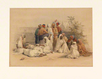 In the Slave Market at Cairo