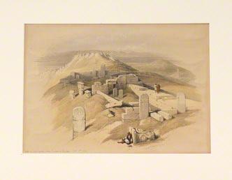 Temple on Gebel Garabe, called Surabit el Khadim