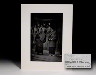 Photograph. Two Women on Street