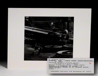 Photograph. Large Steel Parts