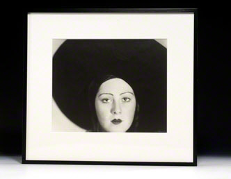 Photograph signed. Head of a Dancer