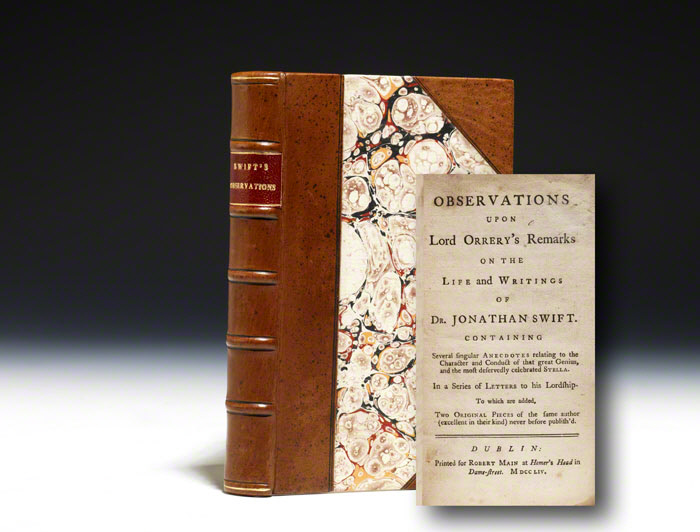 Observations upon Lord Orrery's Remarks on... Dr. Jonathan Swift