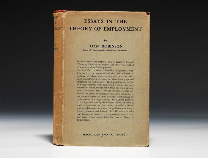 Essays in the Theory of Employment