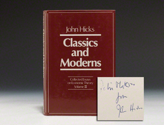 Classics and Moderns