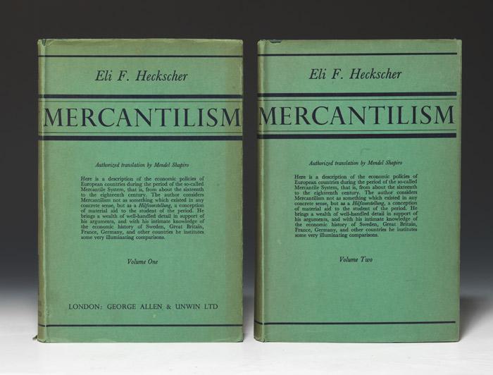 Mercantilism First Edition - Eli F. Heckscher - Bauman ...