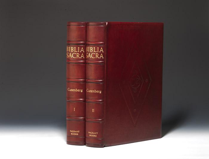 Biblia Sacra [The Gutenberg Bible, First American]