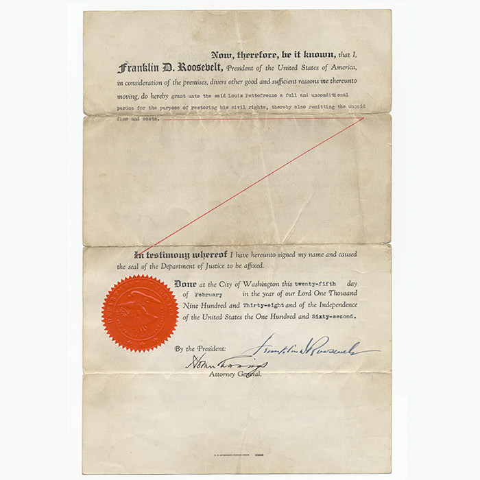 Document signed