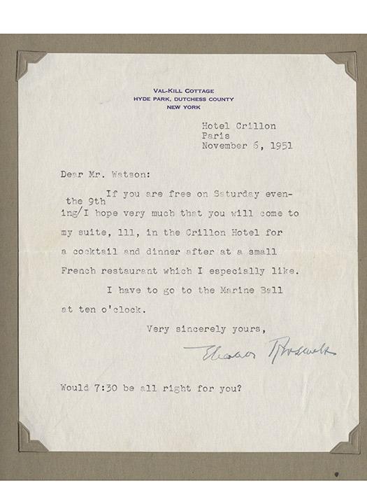 Archive of correspondence