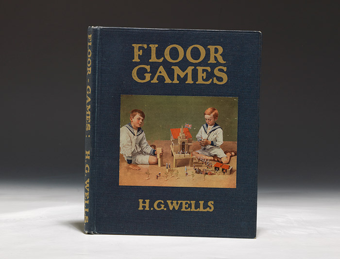 Floor Games. WITH: Autograph scorecard featuring two original sketches